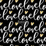 Love Seamless Pattern (id: 15068) vászonkép