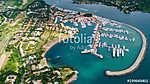 Casa de Campo. Big port for yacht parking. Above (id: 16468) vászonkép óra