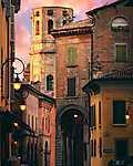 Piazza Antonio Fontanesi, Olaszország (id: 17568) vászonkép