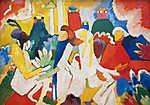 Vaszilij Kandinszkij: Oriental (id: 19468)