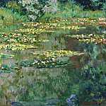 Paul Cézanne: Tavirózsák (1904) (id: 2968) vászonkép