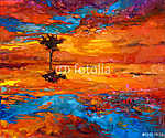 Napfényes fa (id: 4268) vászonkép