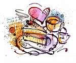Cake Sketch (id: 10369) tapéta