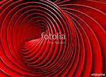 Absztrakt 3d háttér spirál vagy örvény piros hang (id: 10969) vászonkép óra