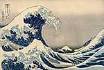 Nagy hullám Kanagavánál (id: 14269) vászonkép