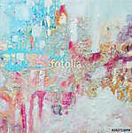 Abstract acrylic painting. Contemporary art. (id: 15469) vászonkép