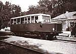 Balatonszemes vasútállomás, sínbusz (1926) (id: 20169) tapéta
