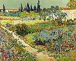 Vincent Van Gogh: Virágoskert Arles-ban (id: 2869) tapéta