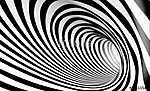 Absztrakt 3d spirál háttér fekete-fehérben (id: 10970) poszter