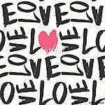 Love Seamless Pattern (id: 15070) falikép keretezve