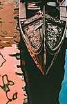 Velencei gondola (id: 17070) falikép keretezve