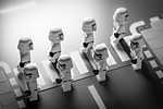 LEGO  Star Wars - Klónkatonák (id: 17670) falikép keretezve