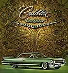 Cadillac  Coupe De Ville, 1961 (id: 2170) poszter