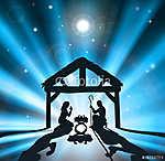 A karácsonyi születés (id: 7170) vászonkép