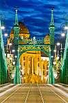 Liberty Bridge, Budapest, Magyarország (id: 9470)