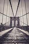 Brooklyn bridge, New York, USA (id: 17471)