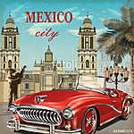 Mexico retro poster. (id: 19171)