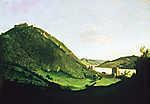 Visegrád látképe (id: 19871) vászonkép
