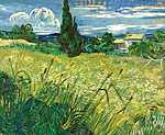 Vincent Van Gogh: Zöld mező (id: 2871) vászonkép