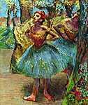 Edgar Degas: Balett-táncosnők No.2. (id: 871) vászonkép