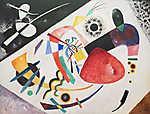 Vaszilij Kandinszkij: Piros folt (id: 19472)