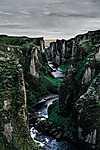 Izlandi kanyon (id: 19572) vászonkép óra