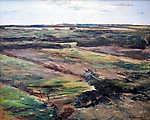 Max Liebermann: Holland tájkép (színverzió 1.) (id: 19672) vászonkép óra