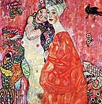 Gustav Klimt: Barátnők (id: 2472) tapéta