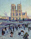 Maximilien Luce : A Saint Michel rakpart és a Notre Dame (id: 12073)