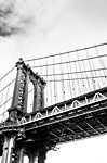 Brooklyn bridge részlet, New York, USA (id: 17473) vászonkép