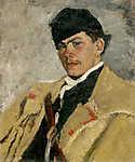Mednyánszky László: Pásztor, subában (id: 19973) vászonkép