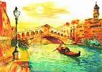 Olajfestmény - Velence, Olaszország (id: 10274) vászonkép
