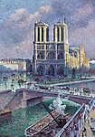 Maximilien Luce : Notre Dame, Párizs (id: 12074)