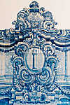 Beautiful Ceramic Wall Texture Pattern Or Azulejos In Lisbon, Po (id: 13374) poszter