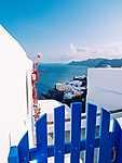 Oia, Santorini, Görögország (id: 14374) többrészes vászonkép