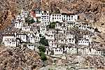 Karsha gompa - buddhista kolostor Zanskar völgyében - Ladakh (id: 5774) poszter