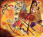 Vaszilij Kandinszkij: Absztrakt festmény (id: 14275)