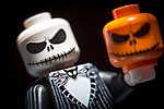LEGO Characters - Jack Skellington (id: 17675) falikép keretezve