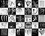 Vaszilij Kandinszkij: Harminc (id: 19475) többrészes vászonkép