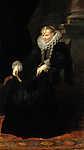 Anthony van Dyck : Genovai hölgy portréja (id: 19575) vászonkép óra