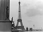 Az Eiffel-torony 1960-ban (id: 20275) vászonkép