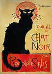 Tournée du Chat Noir (id: 3775) falikép keretezve