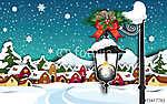 Születés a hóban Ország vidéki függőleges (id: 7175) tapéta