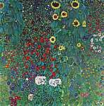 Kert napraforgókkal, 1906 (id: 1076)