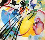 Vaszilij Kandinszkij: Absztrakt festmény (id: 14276)