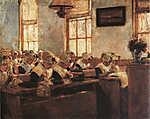 Max Liebermann: Hollandiai varróiskola (id: 19676) poszter