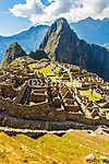 Rejtélyes város - Machu Picchu, Peru, Dél-Amerika. (id: 5976) vászonkép