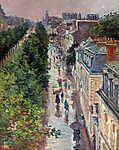 Maximilien Luce : Párizsi utca - színverzió 2. (id: 12077) vászonkép óra