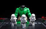 LEGO Star Wars & Hulk - Futáááás! (id: 17677) tapéta