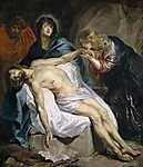 Anthony van Dyck : Piéta (id: 19377) vászonkép óra